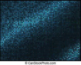 mózesi, fénykép, derékszögben, kék, elvont, állati tüdő, disco, sokszínű, vektor, háttér.