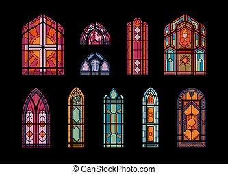 mózesi, templom, windows, állhatatos