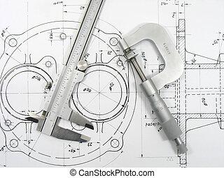 műszaki, 1, csekkszámlák, caliper, mikrométer