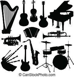 műszerek, zenés