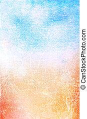 művészet, background:, szüret, keret, fehér, /, tervezés, példa, kék, dolgozat, textured, grunge, sárga, struktúra, határ, elvont, piros, backdrop.