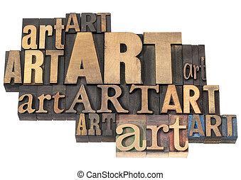 művészet, elvont, erdő, szó, gépel