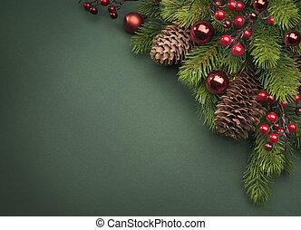 művészet, karácsonyi üdvözlőlap, köszönés