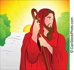művészet, krisztus, jézus