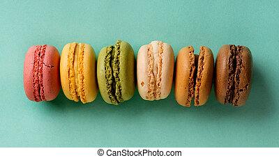 macarons, evez