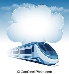 magas, személyszállító vonat, gyorsaság