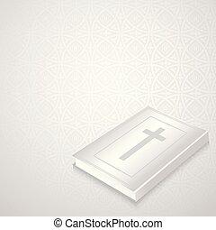 magyal, biblia, gót, háttér, ábra