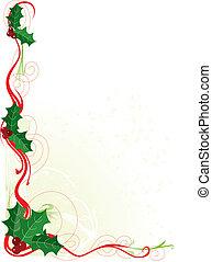 magyal, határ, karácsony