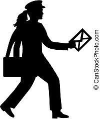 mailwoman, levél