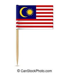 malaysia lobogó, fogpiszkáló