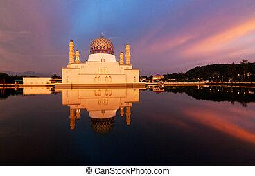 malaysia, mecset, sabah