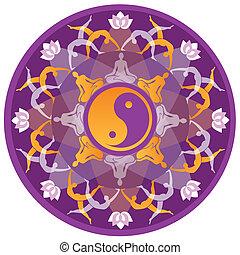 mandala, jóga
