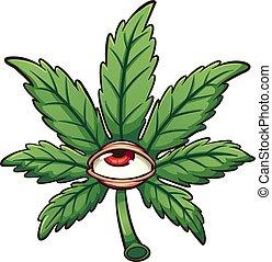 marijuana lap