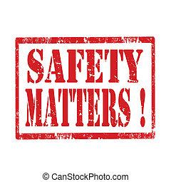 matters-stamp, biztonság