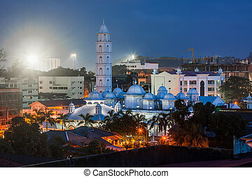 mecset, félhomály