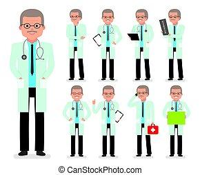 medic., orvos, set., alkotás, betű, gyermekorvos, orvos