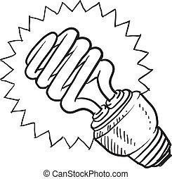 megállapodás, fluorescent láng, gumó