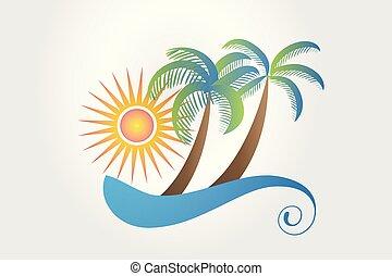 megüresedések, jel, tropikus