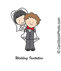 meghívás, esküvő