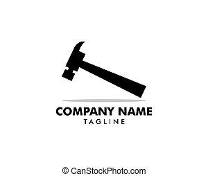 megjavítás, ügy, ingatlan, jel, szerkesztés, társaság, fenntartás, otthon, kalapács
