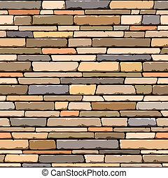 megkövez, pattern., seamless, wall.
