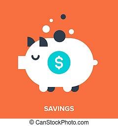 megtakarítás