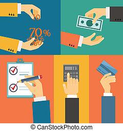 megvásárol, fizetés, hitel