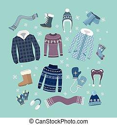 meleg, díszlet tervezés, tél felöltöztet