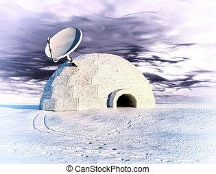 mellékbolygó, jégkunyhó