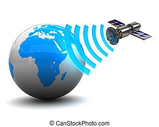 mellékbolygó, rádióközvetítés