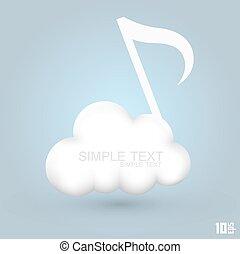 melodies, felhő