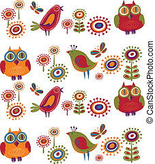 menstruáció, 2, -, madarak