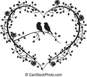 menstruáció, 4, szív, madarak