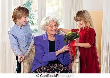 menstruáció, felfogó, unokák, nagyanyó