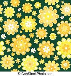 menstruáció, sárga háttér
