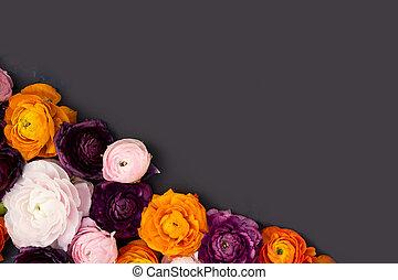 menstruáció, virágzó, fekete