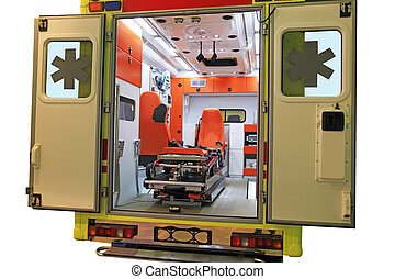 mentőautó