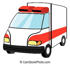 mentőautó, szükségállapot jármű