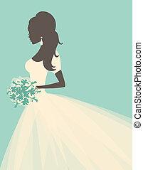 menyasszony, romantikus