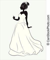 menyasszony, white ruha, esküvő