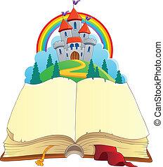 mese, kép, 1, téma, könyv, tündér