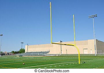 mező, amerikai futball, felbérel, gól