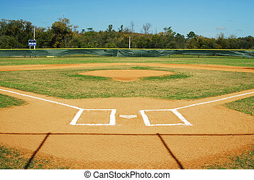mező, baseball