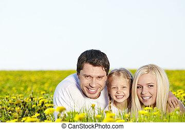 mező, család