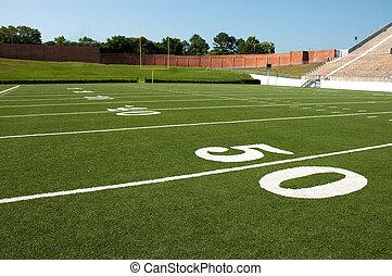 mező, labdarúgás, amerikai
