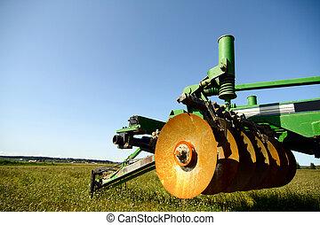 mezőgazdaság, gépezet