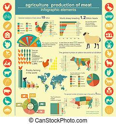 mezőgazdaság, infographics