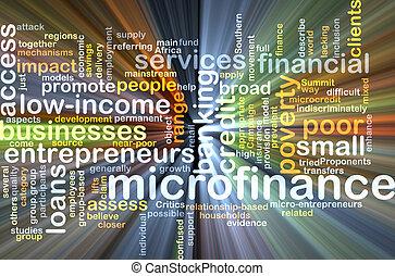 microfinance, fogalom, izzó, háttér