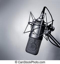 mikrofon, műterem
