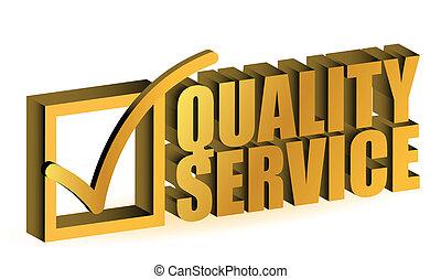 minőség, szolgáltatás